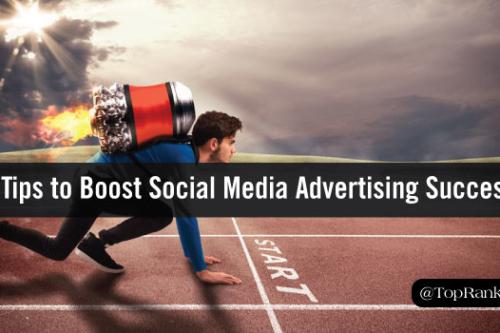 social media advertisng success tips