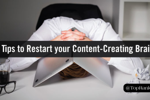 restart your content