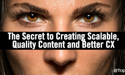 secret to creating scalable quality influencer generated content