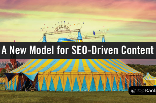 new model for seo driven content marketing