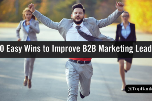 improve your b2b marketing leads