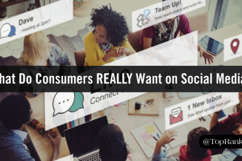 what do consumer really want from brands on social media