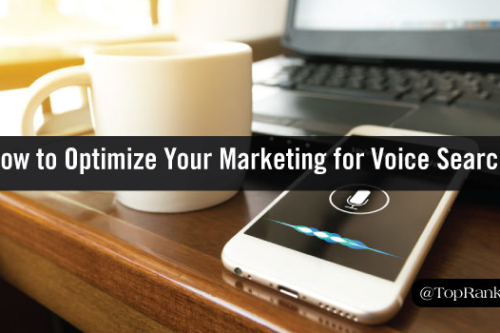 optimizing your marketing for voice search